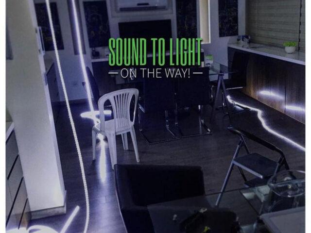 SOUND TO LIGHT SYSTEM